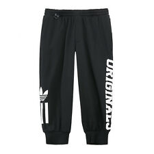 Adidas Trefoil Logo Mens Training 3/4 Pants 2016 Large NWT Black $70 Soccer