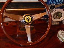 Ferrari 328 GTS Steering Wheel Wood NARDI NEW Rare Model fit Original MOMO Hub