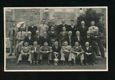 Somerset CLEVEDON Victoria Convalescent Home Group photo c1940 RP PPC