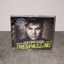 Factory Sealed Trespassing by Adam Lambert Deluxe Edition CD!