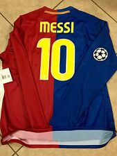Spain Fc Barcelona Player Issue  Match Unworn Messi Jersey  Argentina Rare Shirt