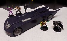 2016 NJCROCE DC COMICS BATMAN THE ANIMATED SERIES BATMOBILE LOOSE COMPLETE +MORE