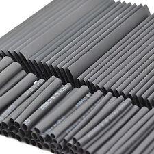 7 Sizes Pack 127pcs RSFR-(2X)H black Heat Shrink Tube Tubing Termoretractil Tubo