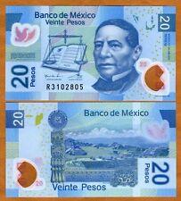 Mexico, 20 Pesos, 2011, Polymer P-122-New Q-Serie UNC