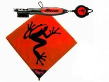 New Red Frogger Amphibian Golf Towel & Brushpro Combo