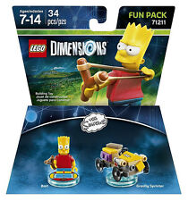 LEGO Dimensions - The Simpsons Bart Fun Pack (Toy) New