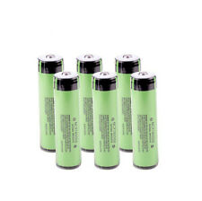 6pcs Genuine Panasonic Protected NCR18650B 3400mAh Battery with PCB Japan Made