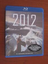 """"""" 2012 """" (CI AVEVANO AVVERTITO) BLU RAY DISC SONY COME NUOVO"""