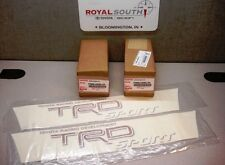 Toyota Tacoma TRD Red Sport Decal Emblem Sticker Kit Genuine OE OEM