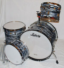 Ludwig Classic Maple Fab Four Shell Set Black Oyster - 4-teilig - NEU