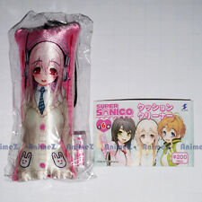 Super Sonico mascot cushion screen cleaner strap - version 1 *UK SELLER*