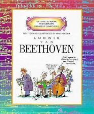 Ludwig Van Beethoven (Getting to Know the World's Greatest Composers)-ExLibrary