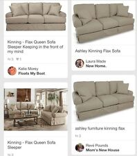 Ashley Furniture Kinning Flax Sofa Couch