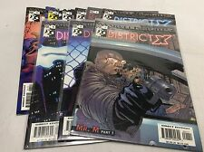 DISTRICT X #1-11 (MARVEL KNIGHTS/HINE/0315241) COMIC BOOK COLLECTION SET OF 9
