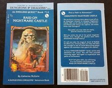 1983 Endless Quest Book #14 RAID ON NIGHTMARE CASTLE 1st Printing TSR D&D NEW!!