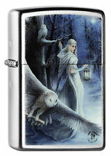ZIPPO Feuerzeug ANNE STOKES Collection OWLS IN MYSTIC FOREST Spring 2015 NEU OVP