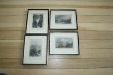 R1186  PATTERDALE LANGDALE AIREY THIRLEMERE CUMBERLAND 4 ENGRAVINGS as lot