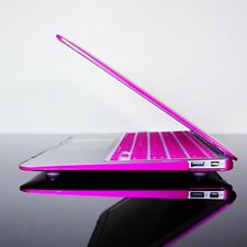 """METALLIC HOT PINK Hard Case Cover for Macbook Air 13"""""""
