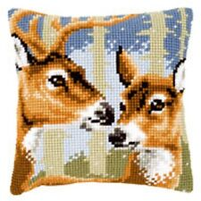 Deer - Vervaco Large Holed Tapestry Cushion Kit - PN-0021846