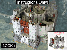 CUSTOM Lord of the Rings Helm's Deep Book 1 Ultimate Build (Instructions Only!)
