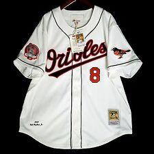 100% Authentic Cal Ripken 2001 Orioles Mitchell Ness MLB Jersey Size 52 2XL