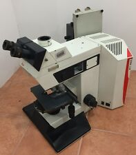 Leica DMR w/ 4 Leica Objectives 7 positions objective turret, ships world wide.