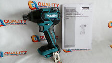 "New Makita XDT08 18V LXT Li-Ion Cordless Brushless 1/4"" Impact Driver -Bare Tool"