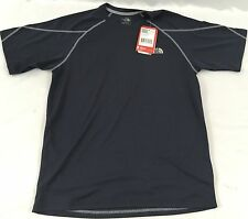 The North Face Men's Athletic Voltage S/S Crew Shirt Navy Blue NWT Size Small