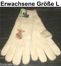 Handschuhe Bobbl Schaf Lammwolle Thinsulate Erwachsene L Wolle Wollhandschuh