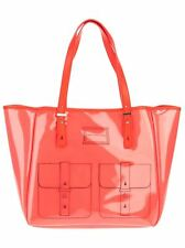 NEW Marc by Marc Jacobs Werdie Clear Tote Purse M3121114 in Clear Fluoro Coral