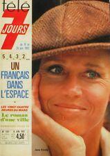 Télé 7 Jours n°1151 - 1982 - Jane Fonda - Montagne Pelée - 24 heures du Mans