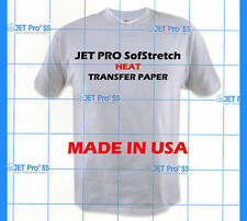 JET-PRO SofStretch Heat Transfer Paper 11x17 10 SHEETS :)
