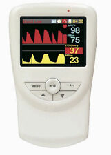 "Handheld Veterinary Co2 and Respiratory Monitor with Accessories, 2.8"" LCD"