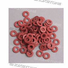 25x M4 INSULATION GASKETS FASTENING PADS OUTER DISCHI ISOLANTI MOTHERBOARD 8mm