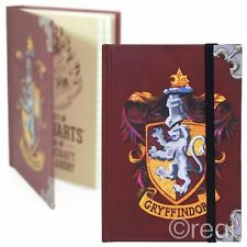 New Harry Potter A6 Gryffindor Notebook Hogwarts Note Pad Journal Mini Official