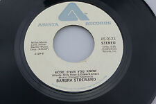Barbara Streisand: More Than You Know / How Lucky Can You Get [Unplayed Copy]
