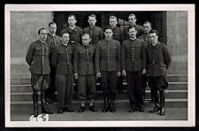 WW 1 Mint BW Postcard Officers at Prisoners of War POW Camp in Murnau Germany
