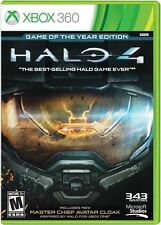 Halo 4: Game Of The Year Edition (Xbox 360, Master Chief) Brand New