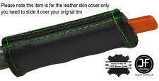 GREEN STITCH E BRAKE HANDLE LEATHER COVER FITS PONTIAC FIERO GT SE V6 1984-1988