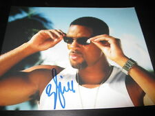 WILL SMITH SIGNED AUTOGRAPH 8x10 PHOTO MEN IN BLACK ROBOT PROMO SHOT ON CAR X15