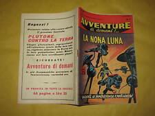 AVVENTURE DI DOMANI  EDIZIONI MONDIALI  NUMERO 17 DEL 5 SETTEMBRE 1957