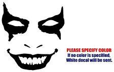 """The Joker Grin JDM Funny Vinyl Decal Sticker Car Window Bumper Wall Laptop 9"""""""