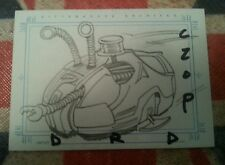 FARSCAPE SKETCH TRADING CARD DRD BY CZOP SKETCHAFEX