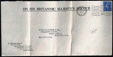 UK GB 1900 1940's COLLECTION OF 38 PERFINS INCLUDING ONE ON OHMS BOARD OF TRADE