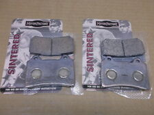 2 Pairs of Sintered Front Brake Pads for 1986-88 Yamaha FZR250 & 1987-89 SRX600