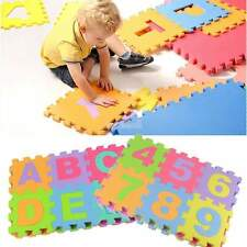 36* Large Interlocking EVA Foam Number Play Floor Mat Baby Kid Jigsaw Puzzle