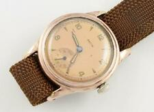 Recta Vtg Waterproof Wrist Watch Rose Colored Rolled Gold Running Type F29 ~ 105