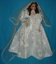 Stunning! LE 157/1000 Porcelain VICTORIAN BRIDE DOLL by Show Stopper