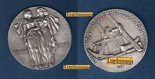 Médaille Argent 1er Par Max Pelletier Travail Etude - Batiment Travaux Publics
