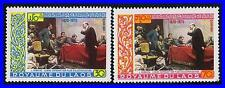 LAOS 1970 LENIN PAINTINGS MNH MAPS, MILITARY, WWI (K-LM-DEC)